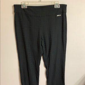 Roz &Ali black in black slacks. Size 12. VGC